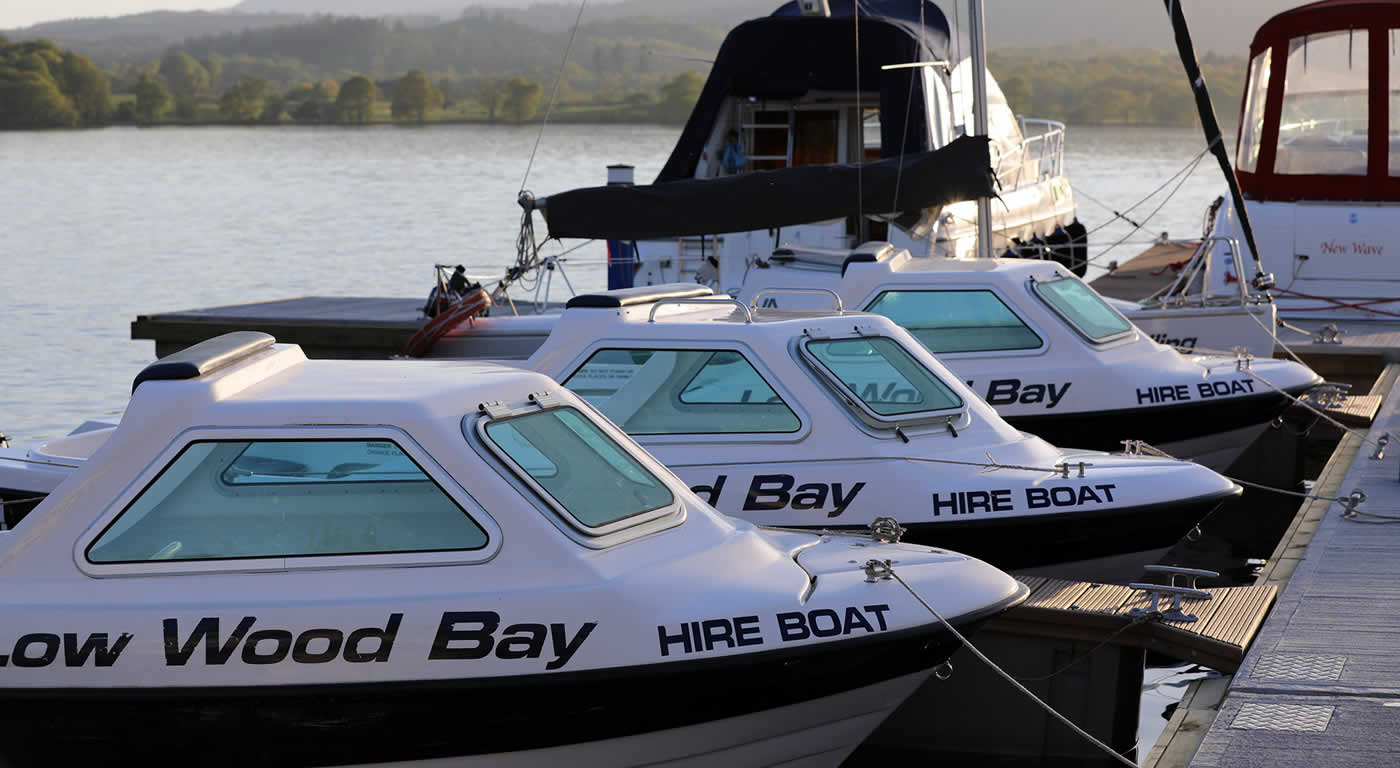 Motorboat Hire | Low Wood Bay Watersports Gift Vouchers | English Lakes Gift Guide