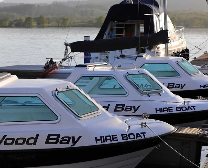 Boat Hire on Lake Windermere with the Watersports Centre at Low Wood Bay Resort & Spa