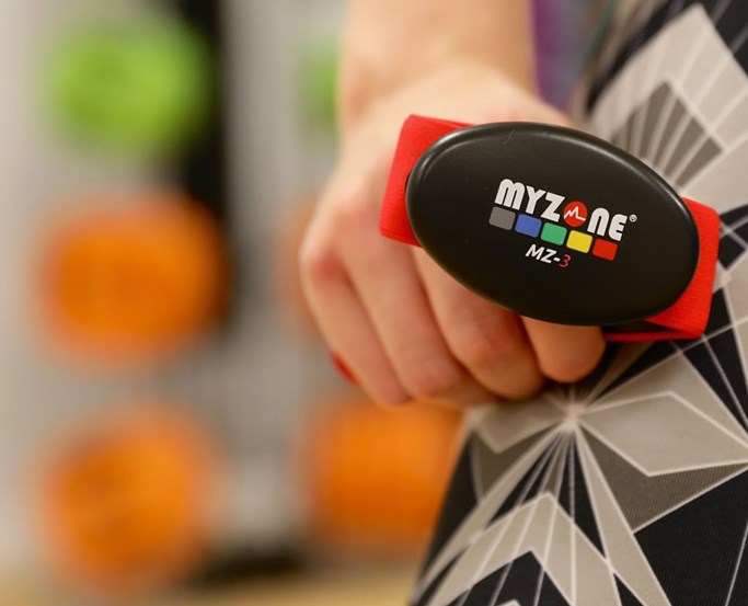 Myzone Activity Tracker supported at the Health Club at Low Wood Bay