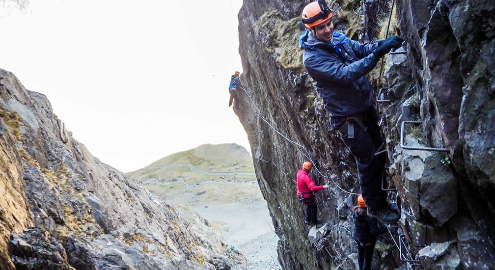 Honister Slate Mine and Via Ferrata