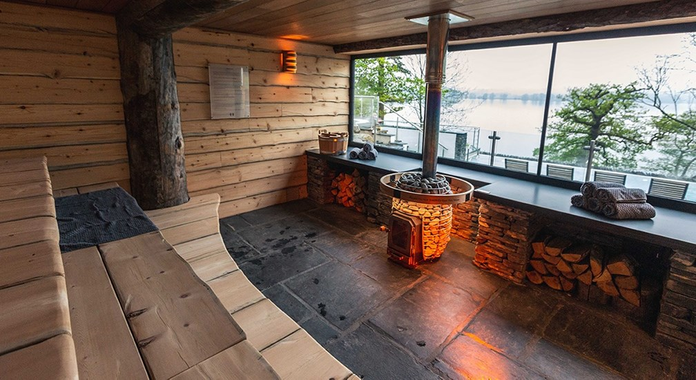 Outside Sauna | Low Wood Bay Resort & Spa | English Lakes Hotels
