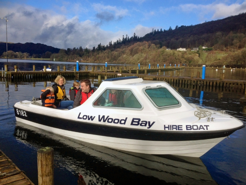 Motorboat Hire | R is for Relax | Low Wood Bay Resort & Spa