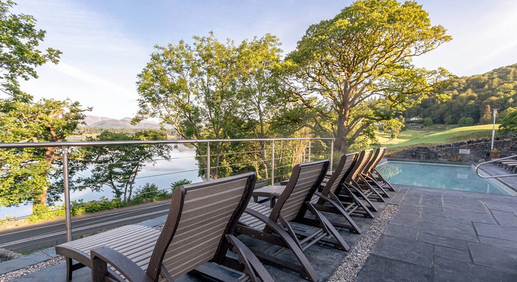 Low Wood Bay Resort & Spa | Outdoor Spa Facilities | Lake District Hotel