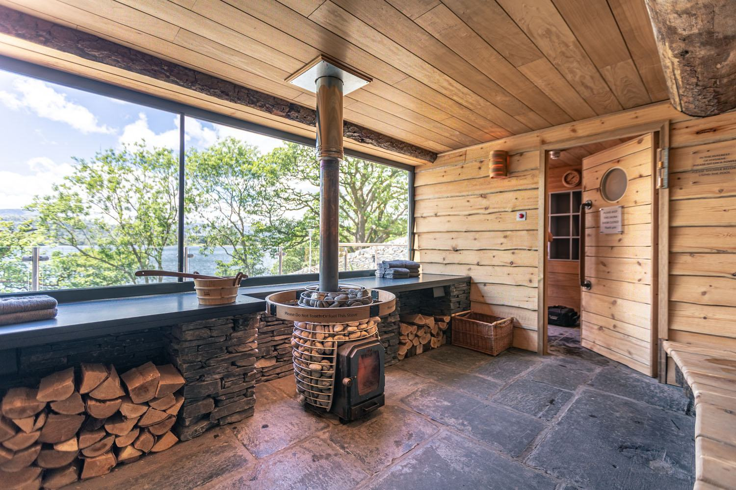 Fellside Sauna | The Spa at Low Wood Bay | Outdoor Spa