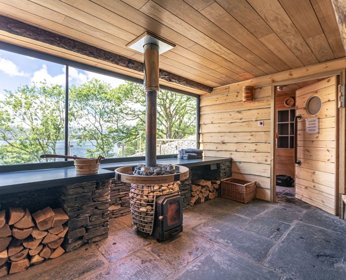 Fellside Sauna | The Spa at Low Wood Bay