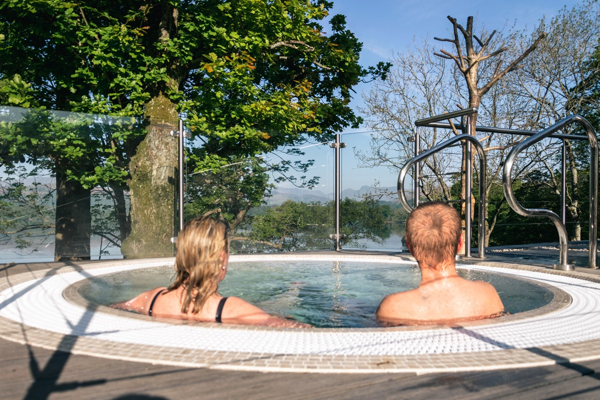Outdoor Hot Tubs | The Spa at Low Wood Bay | Outdoor Spa