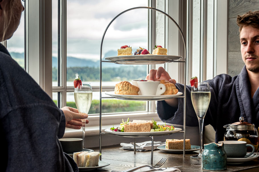 Afternoon Tea at Blue Smoke on the Bay | The Spa at Low Wood Bay