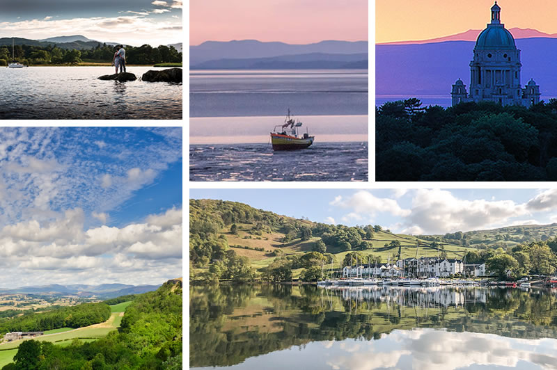Images promoting Hotel Deals this Autumn and Winter in the Lake District and Lancashire