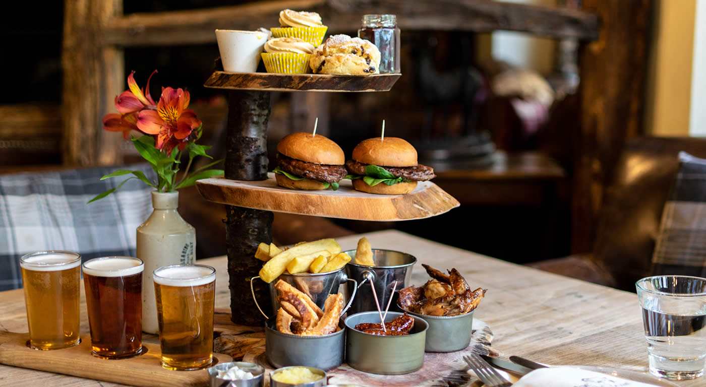 Alternative Afternoon Tea | The Wild Boar | English Lakes Gift Vouchers