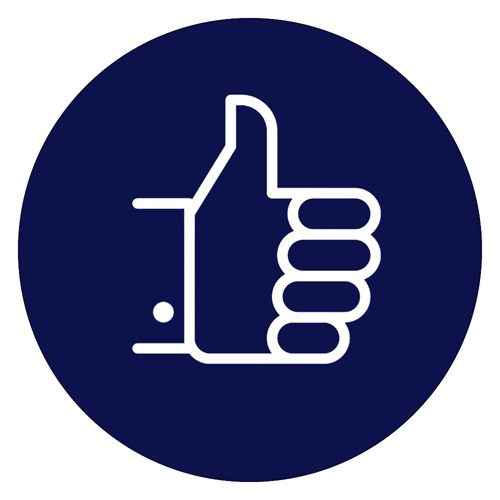 Thumbs Up Icon | English Lakes Hotels | COVID-19