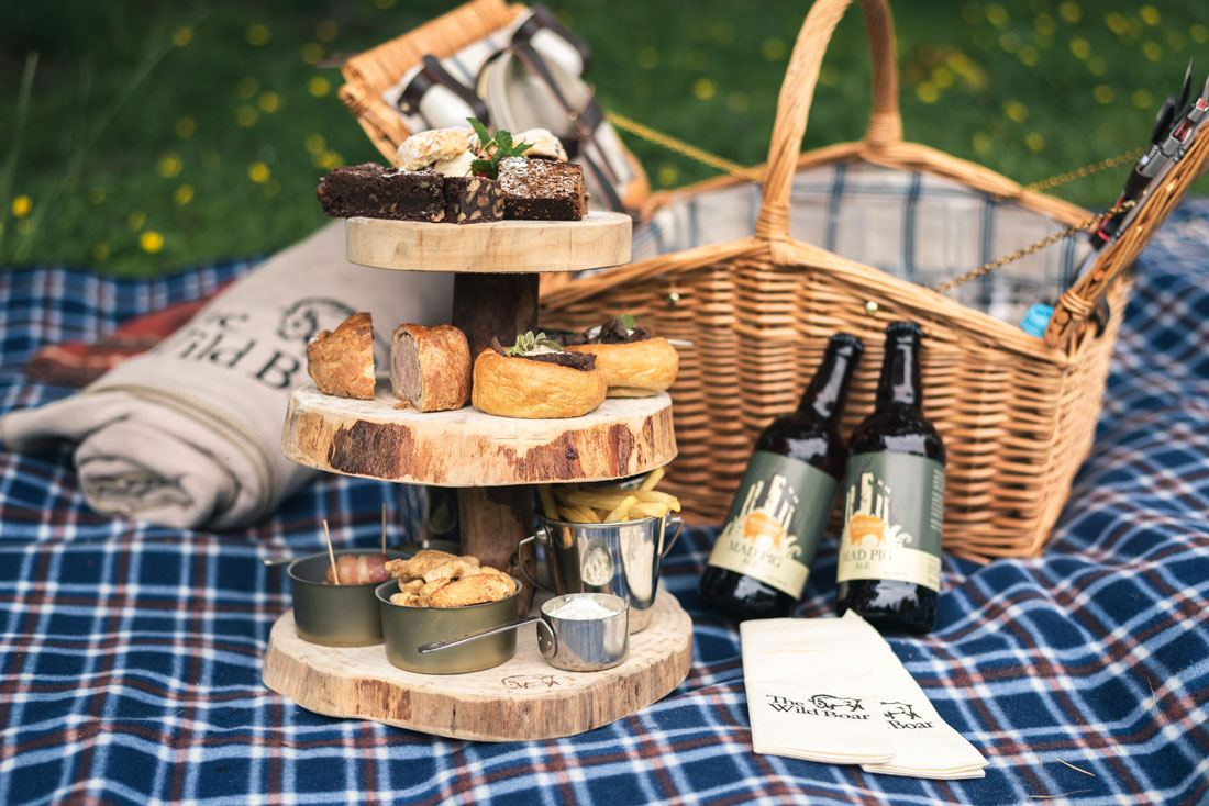 Alternative Afternoon Tea Picnic | English Lakes Hotels | The Wild Boar Inn