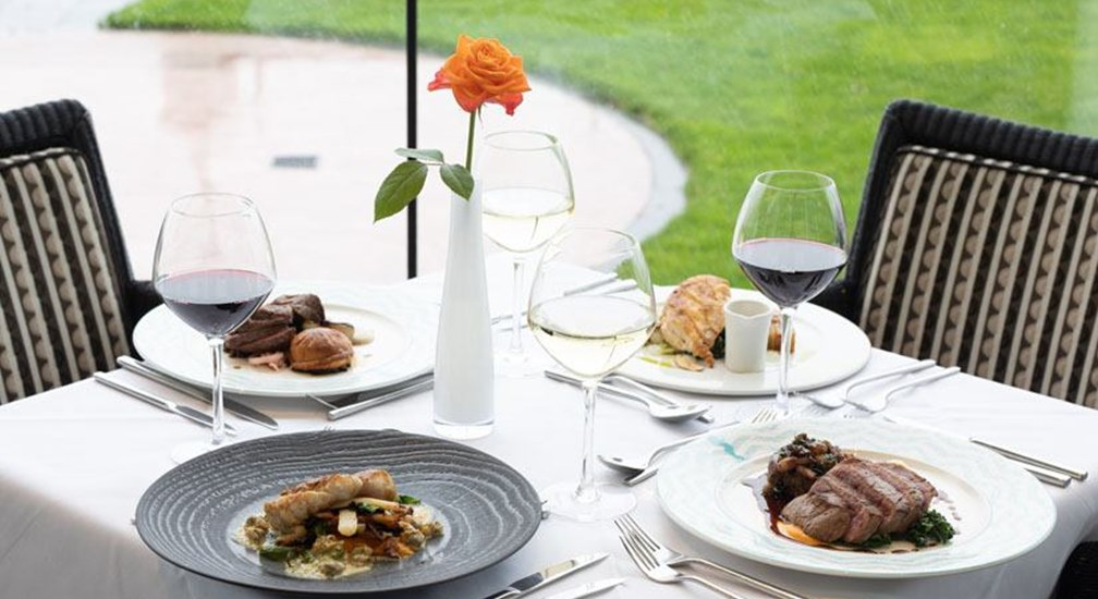 The Sun Terrace Restaurant | The Midland | English Lakes Hotels